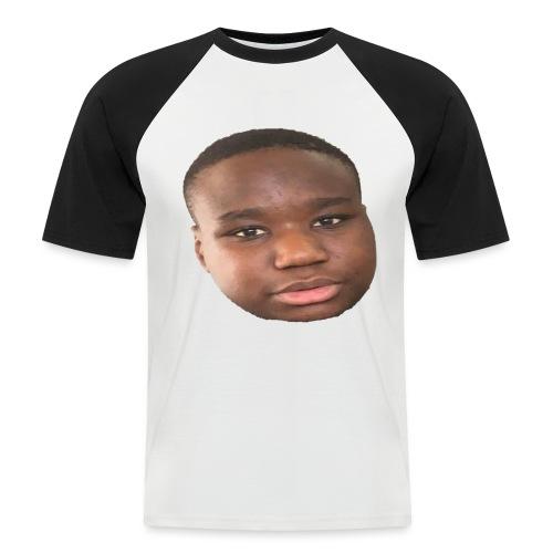 Flance - T-shirt baseball manches courtes Homme