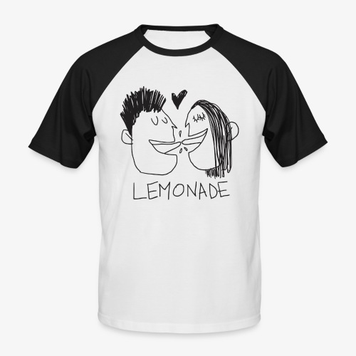 Lemonade Kiss - Maglia da baseball a manica corta da uomo