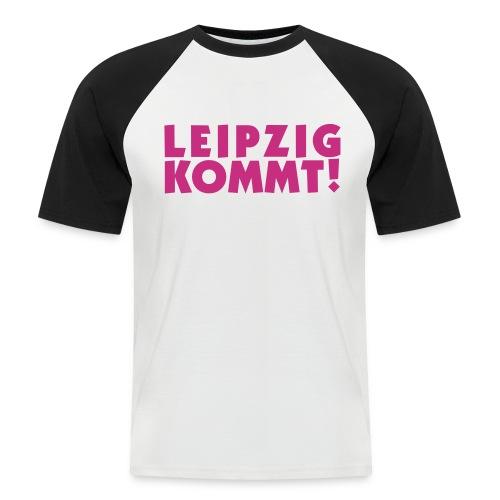 leipzigkommt leipziger leipzig - Männer Baseball-T-Shirt