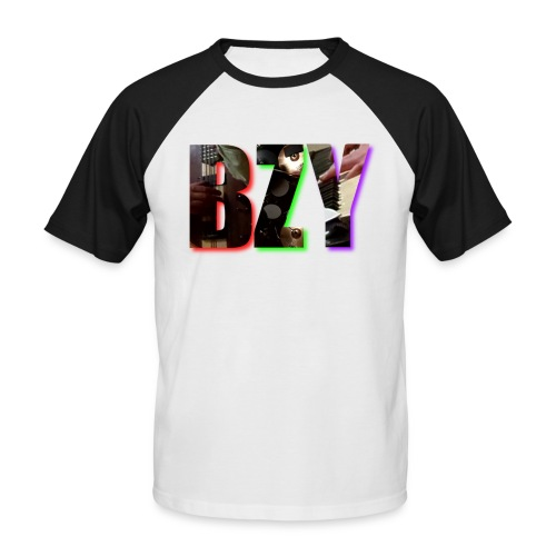 BZY - OFICJALNY PROJEKT - Koszulka bejsbolowa męska