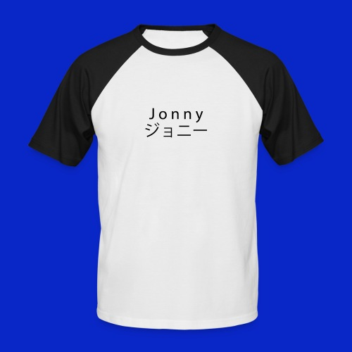 J o n n y (black) - Men's Baseball T-Shirt