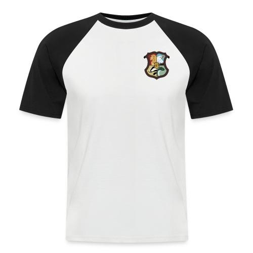 Emblème des 4 écoles - T-shirt baseball manches courtes Homme