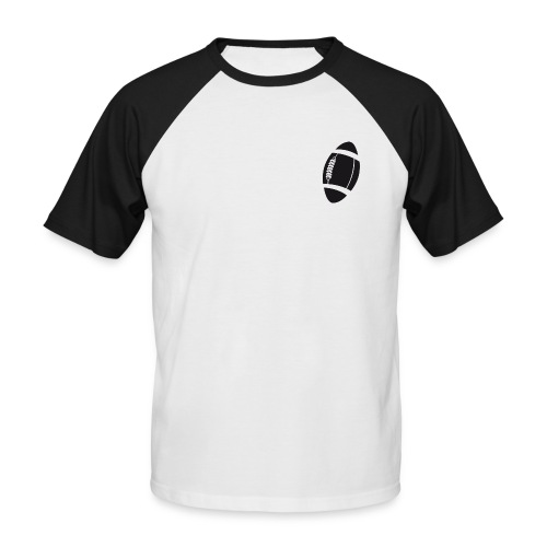 ballon rugby - T-shirt baseball manches courtes Homme