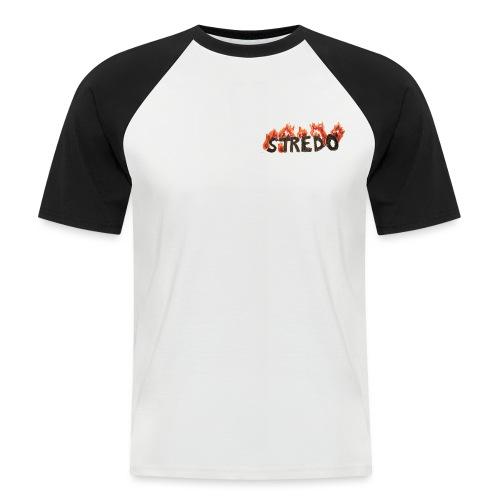 VOOR STREDO UITZICHT - Mannen baseballshirt korte mouw