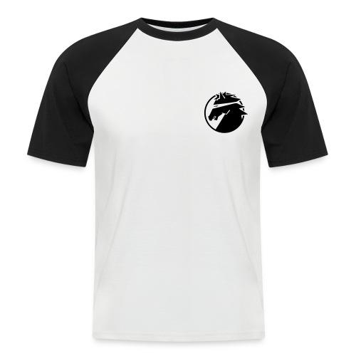 ninja_logo_sv - Kortärmad basebolltröja herr