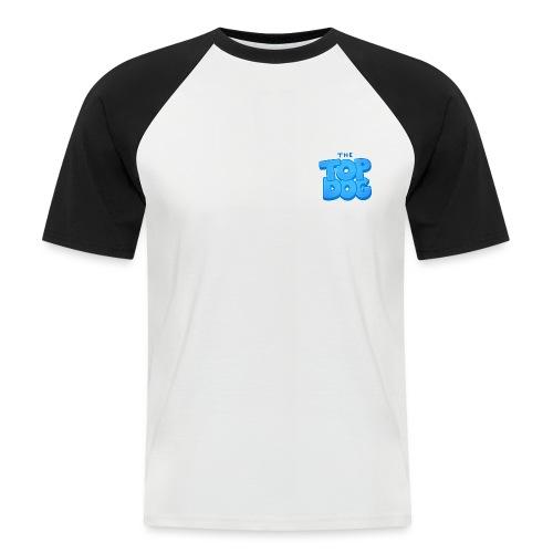 smaller topdog logo - Men's Baseball T-Shirt