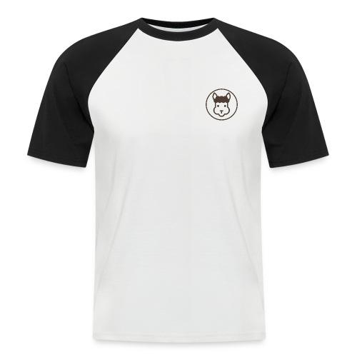 Llamalicious Logo - Kortærmet herre-baseballshirt