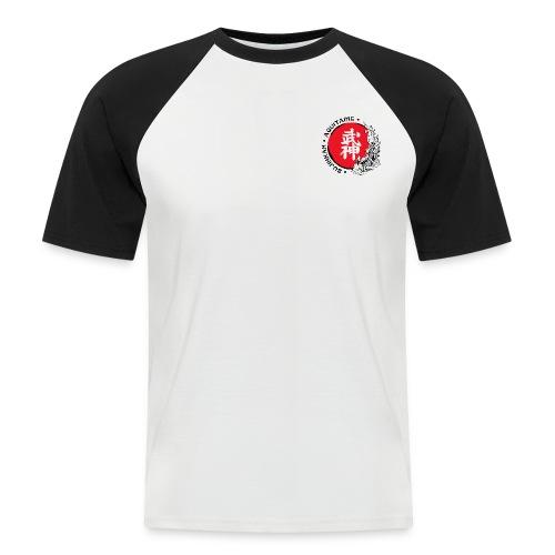 Logo2015 tshirt noir png - T-shirt baseball manches courtes Homme