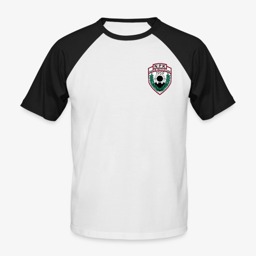 Narvik Pistolklubb - Kortermet baseball skjorte for menn