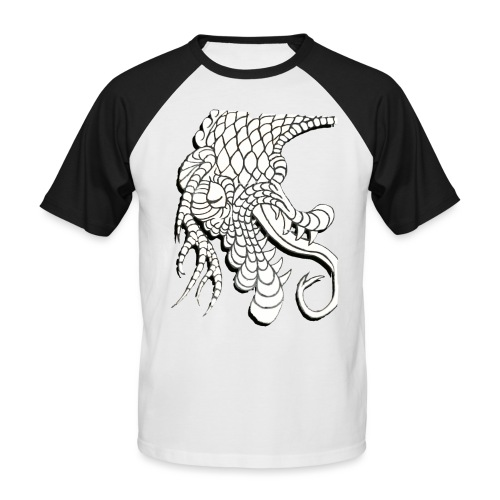 Design Number (6) - Men's Baseball T-Shirt