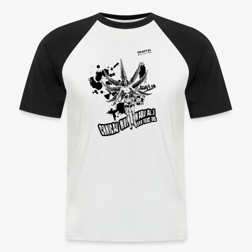 slyteste - T-shirt baseball manches courtes Homme