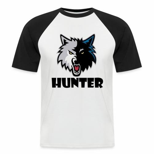 Hunter T-schirt - Mannen baseballshirt korte mouw