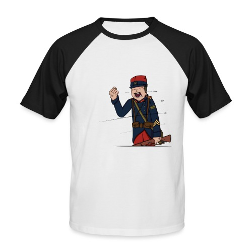 Sgt.Flantier 1914 - T-shirt baseball manches courtes Homme