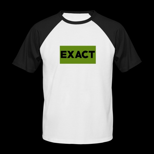Exact Classic Green Logo - Men's Baseball T-Shirt