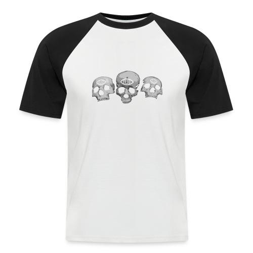 cráneo - Men's Baseball T-Shirt