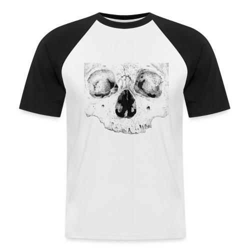 skull - Kortærmet herre-baseballshirt