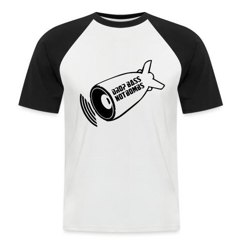 DBNB Black - Mannen baseballshirt korte mouw