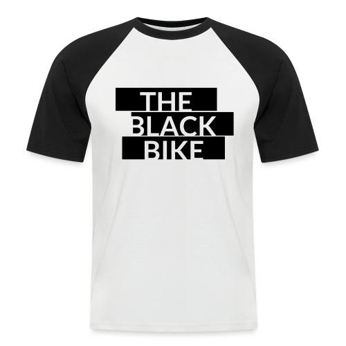 THE BLACK BIKE - T-shirt baseball manches courtes Homme
