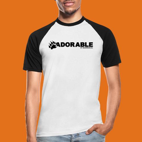 adorable - Men's Baseball T-Shirt