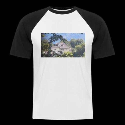 Altes Haus Vintage - Männer Baseball-T-Shirt