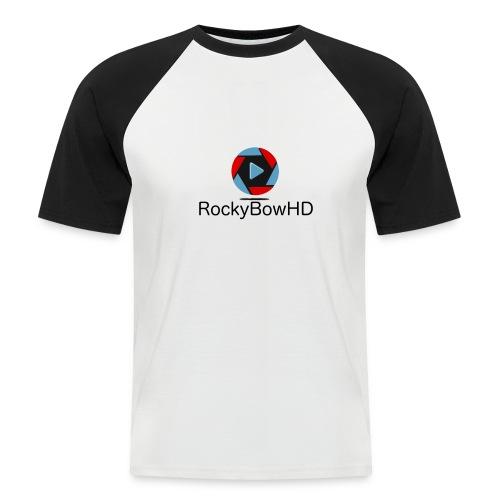 RockyBowHD - Männer Baseball-T-Shirt
