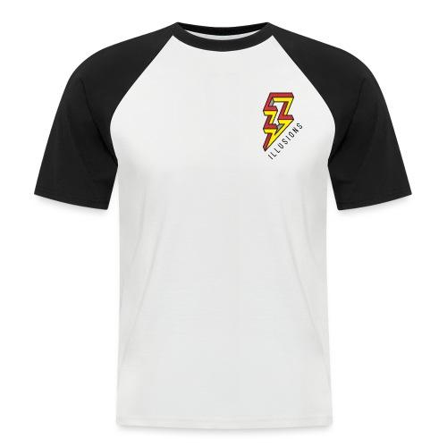 ♂ Lightning - Männer Baseball-T-Shirt