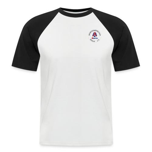 NARVA Logo außen transparent png - Männer Baseball-T-Shirt