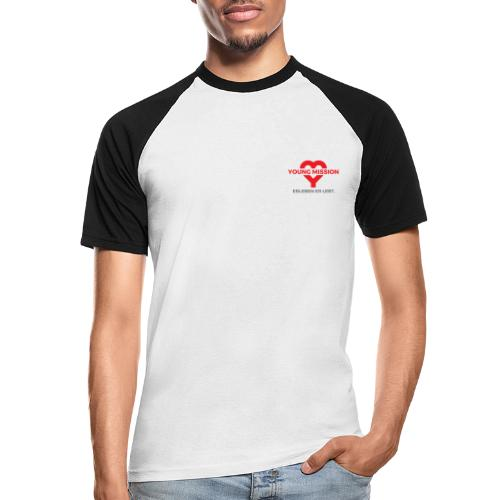 YOUNG MISSION - Männer Baseball-T-Shirt