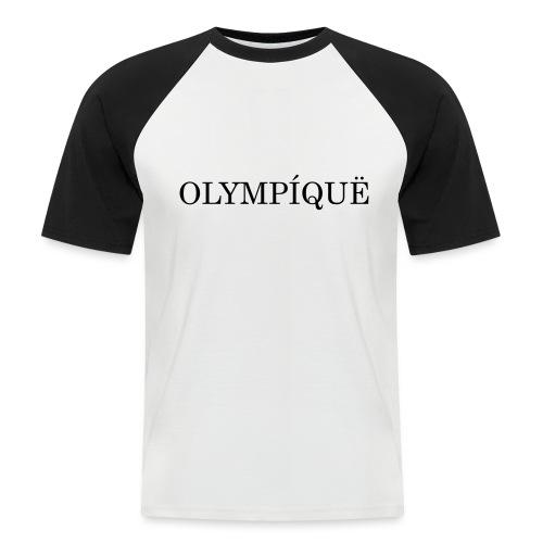 OLMPQ - Mannen baseballshirt korte mouw