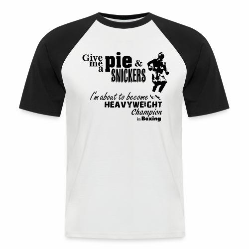 Boxing Champ - Männer Baseball-T-Shirt