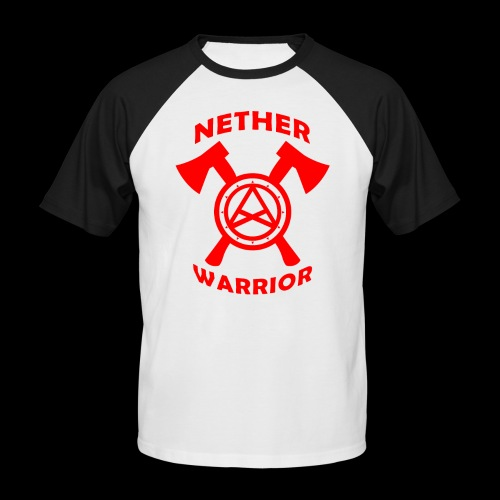 Nether Warrior T-shirt - Maglia da baseball a manica corta da uomo
