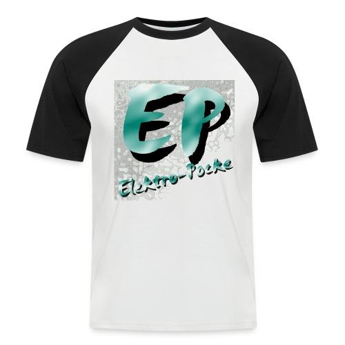 Elektro-Pocke T-Shirt Premium - Männer Baseball-T-Shirt