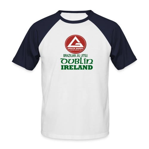 Gracie Barra Dublin Gaelic Celtic Font PNG - Men's Baseball T-Shirt