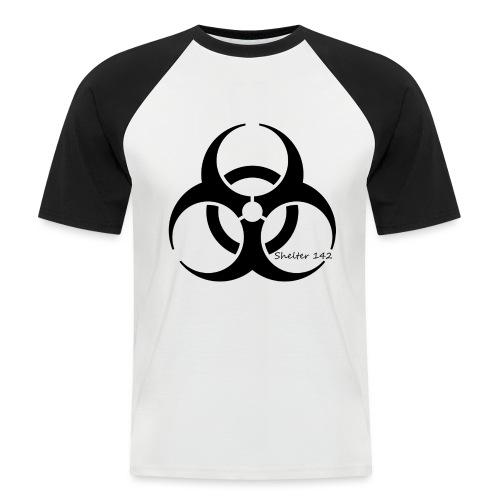 Biohazard - Shelter 142 - Männer Baseball-T-Shirt