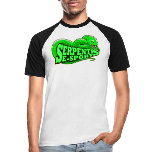 Serpentis E-Sport - Männer Baseball-T-Shirt