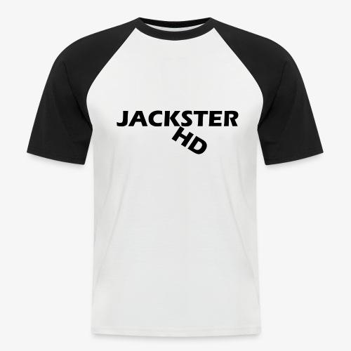 jacksterHD shirt design - Men's Baseball T-Shirt