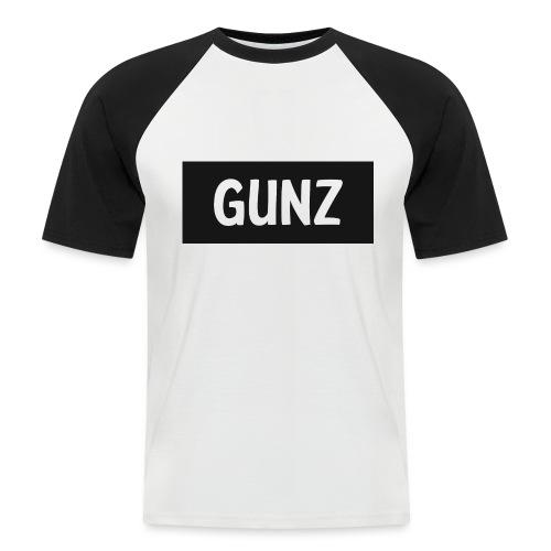 Gunz - Kortærmet herre-baseballshirt