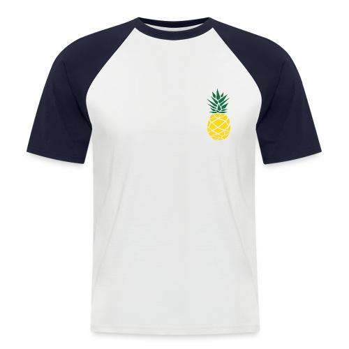 Pineapple - Mannen baseballshirt korte mouw
