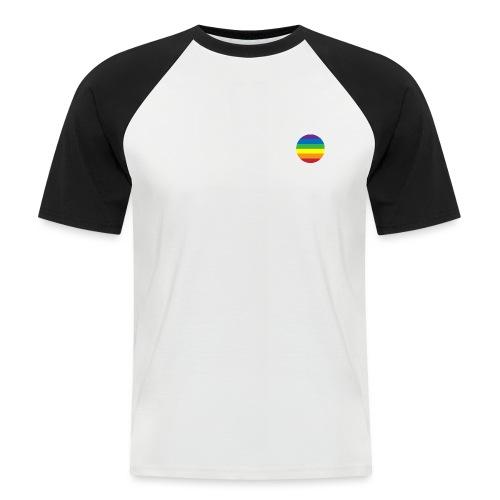 LGBT Badge - T-shirt baseball manches courtes Homme