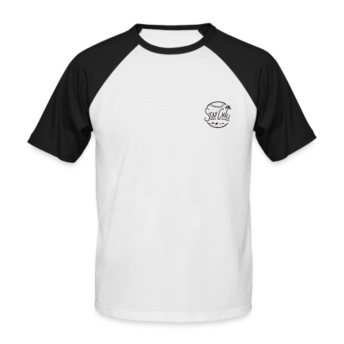 STAY CHILL DESIGN - T-shirt baseball manches courtes Homme