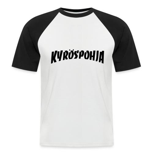 spreadshirt kpc thrasher - Miesten lyhythihainen baseballpaita