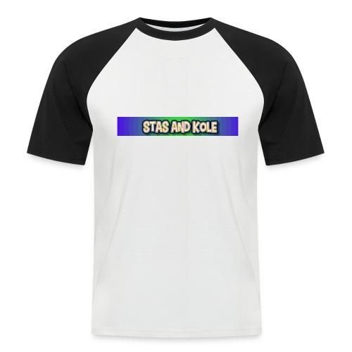 Shirt Logo - Men's Baseball T-Shirt