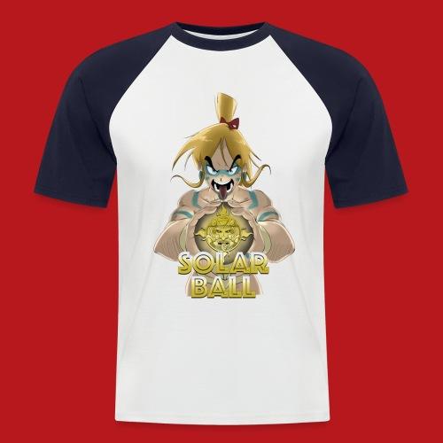 Ricco - T-shirt baseball manches courtes Homme