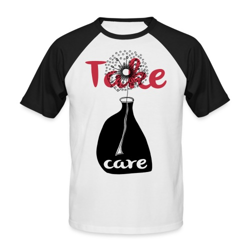take_care - Maglia da baseball a manica corta da uomo