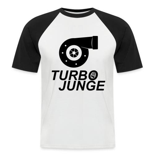 Turbojunge! - Männer Baseball-T-Shirt