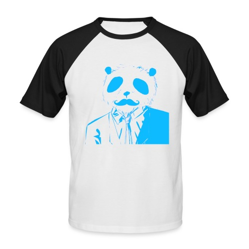 BluePanda Logo - Men's Baseball T-Shirt