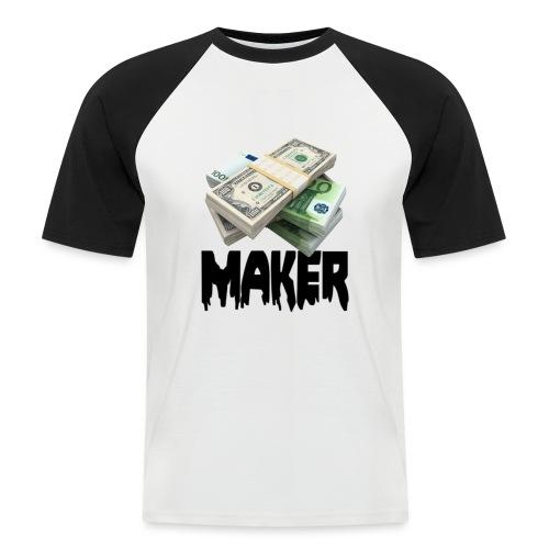 MONEYMAKERBLACK - Mannen baseballshirt korte mouw