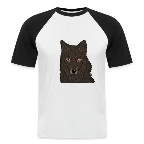 HikingMantis Wolf png - Kortærmet herre-baseballshirt