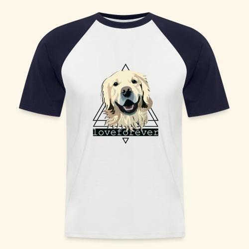RETRIEVER LOVE FOREVER - Camiseta béisbol manga corta hombre