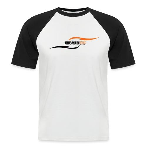 server sales de Logo - Männer Baseball-T-Shirt